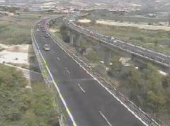 Il tratto dell'A14 di San Benedetto