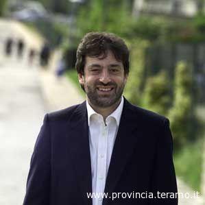 Il presidente della Provincia di Teramo Ernino D'Agostino