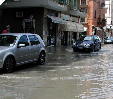 Allagamenti a San Benedetto