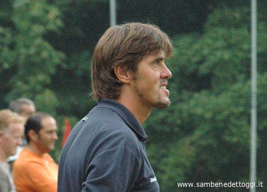 L'allenatore della Samb Alessandro Calori