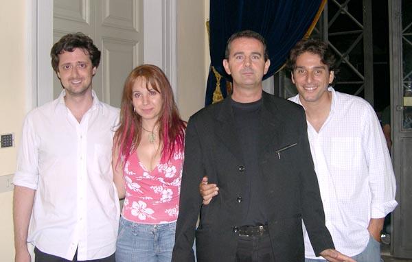 I finalisti Attori di Prosak, Filippo Giardina, Giampiero Lucchi