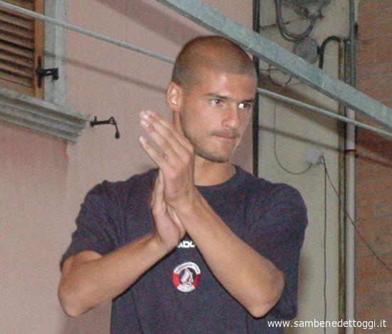 L'attaccante Gennaro Fragiello