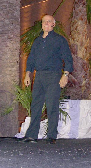 Paolo Hendel sul palco