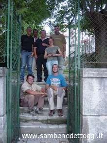 L'assessore Infriccioli in visita a Drnis, insieme con il prof. Lepore ed il dott. Giorgi, dell'ateneo bolognese, ed alcuni amministratori della cittadina croata