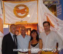 Da sinistra, Andrea Infriccioli, Sandro Abelardi, Carla Bonvicini e Giuliano Ciabocco