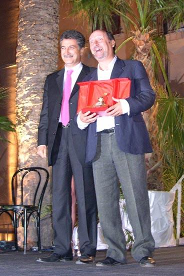 Merli premia Antonio Cornacchione