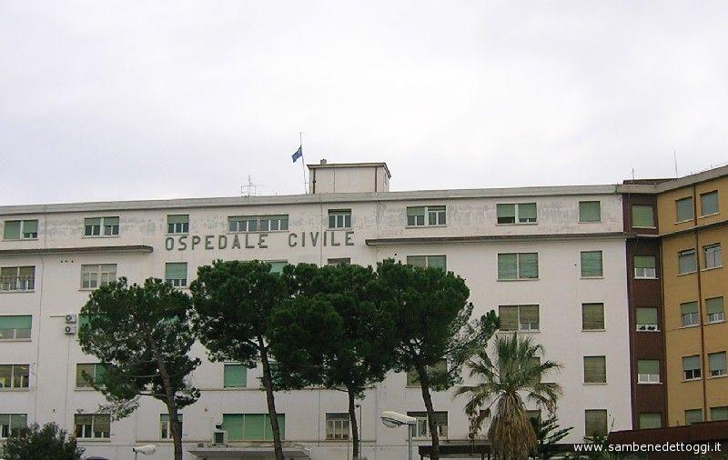 L'ospedale civile di San Benedetto
