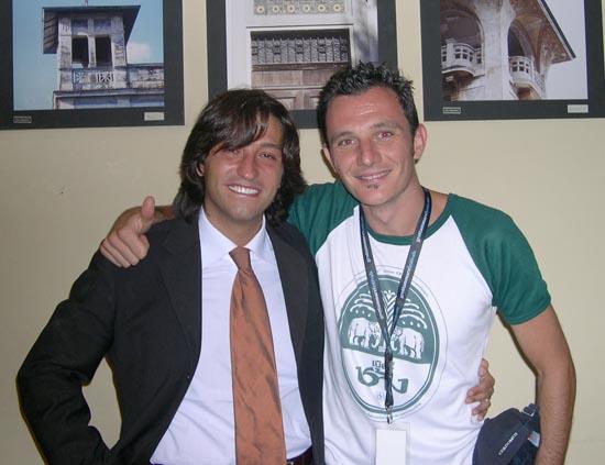 Enrico Piergallini ed il primo premio Marco Dondarini