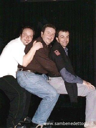 Il trio cabarettistico La Ricotta