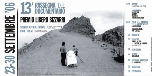 Al via la 13° Rassegna del Documentario Premio Libero Bizzarri