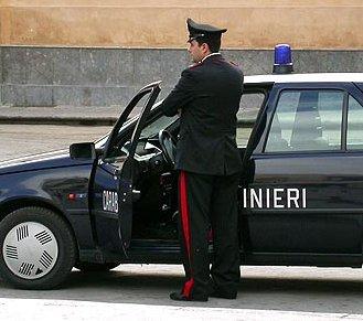 Operazione dei Carabinieri  che arrestano un ricercato per furto