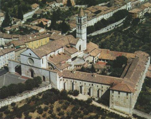 La basilica di Santa Chiara