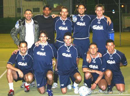 La Cobra Sport, formazione vincitrice dell'edizione 2005-06 del Trofeo Sportland