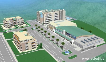 Il progetto di riqualificazione urbana della zona San Biagio di Grottammare a cura della Soledil