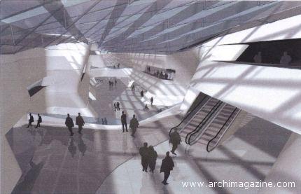 Il progetto per la stazione di Afragola di Zaha Hadid
