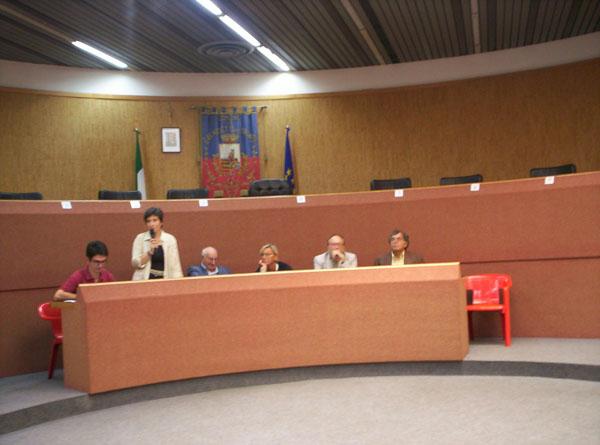 I partecipanti alla conferenza stampa di presentazione della XIII edizione della Rassegna