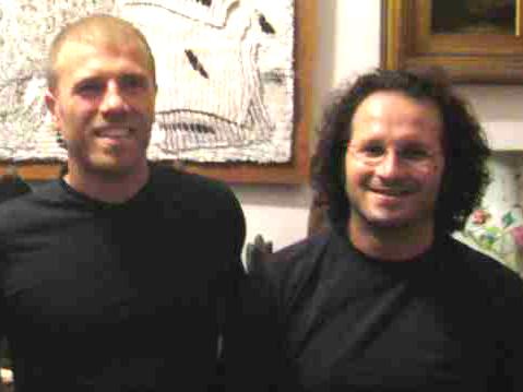 Andrea Infriccioli e Federico Paci