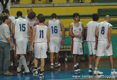 La Joints durante un time out