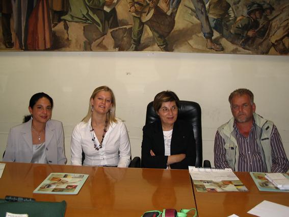 Da sinistra Antonella Nonnis, Giamaica Brilli, Olimpia Gobbi, Lucio Porrà