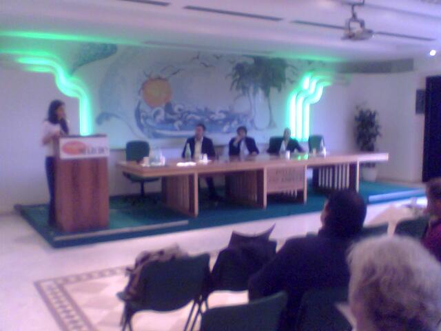 Un momento dell'incontro con i buyer esteri all'Hotel Calabresi