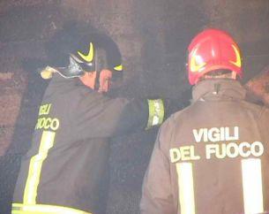 Incendio in un appartamento a Porto d'Ascoli