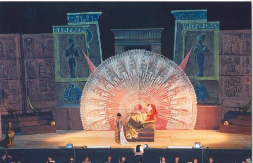 L'Aida di Giuseppe Verdi allestita al Teatro delle Fonti