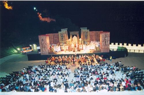 Uno spettacolo al Teatro delle Fonti