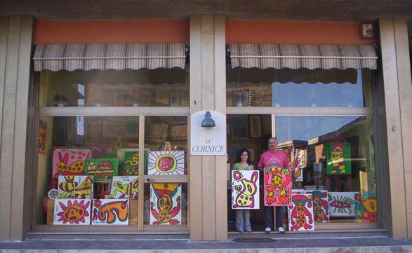 Moscardelli ha dedicato una mostra all'artista scomparso