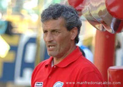 Danilo Pierini, tecnico del Manfredonia
