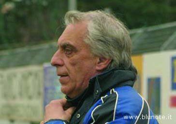 L'allenatore Gianni Simonelli