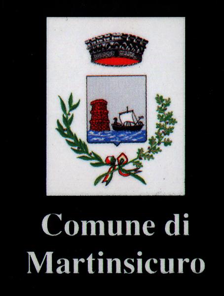 Lo stemma della Città di Marinsicuro