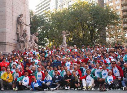 Maratona di New York. Ottimi i piazzamenti degli atleti marchigiani