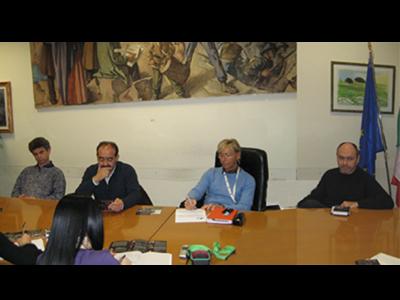 Da sinistra Riccardo Massacci, Piergiorgio Cinì, Margherita Sorge, Lucilio Santoni