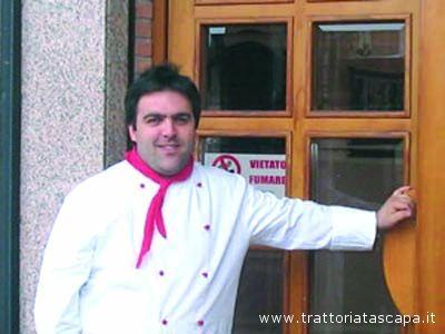 Marco Seproni della Trattoria Tascapà