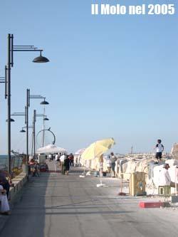 Il Molo Sud nel 2005