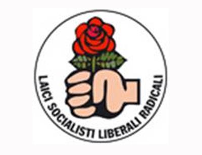 Il logo della Rosa nel Pugno