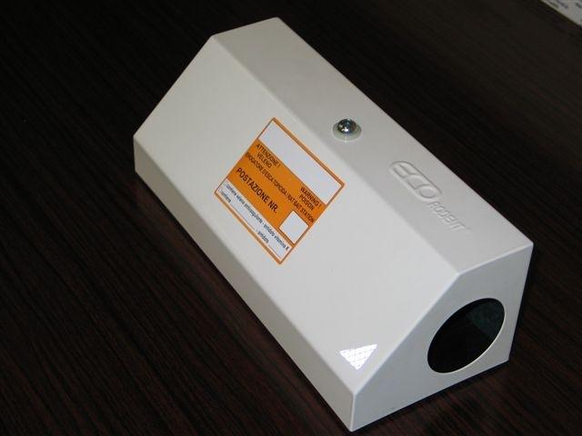 Le Rat box, le trappole per topi che vengono posizionate in città