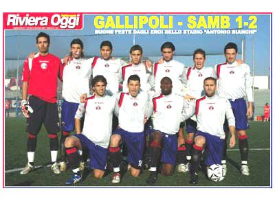 Il poster di Gallipoli-Samb