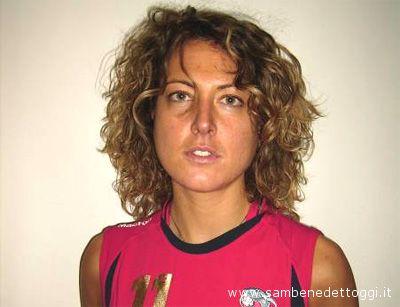 Valeria Matteucci, centrale della II Divisione dell'Ares Volley