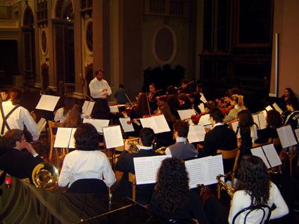 L'Orchestra Sinfonica Giovanile del Conservatorio Pergolesi di Fermo
