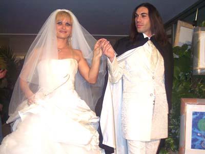 Un matrimonio (foto d'archivio)