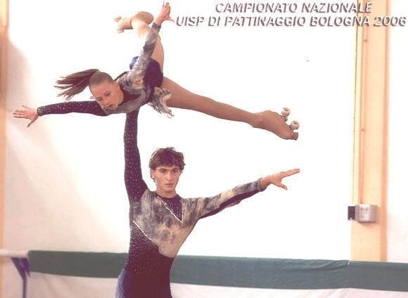 Giada Di Serafino della Castrum di Giulianova e Alessandro Fratalocchi della Diavoli Verde Rosa di San Benedetto del Tronto