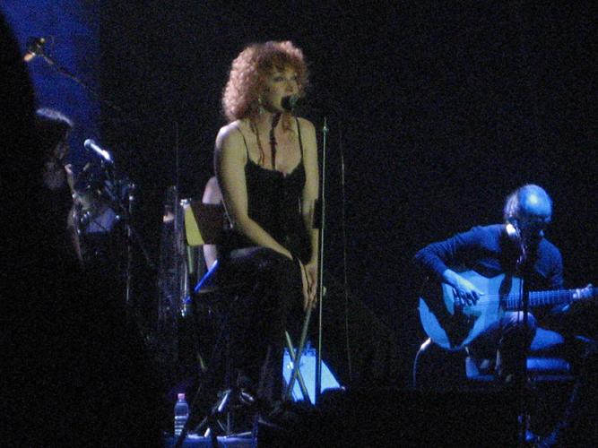 Fiorella Mannoia con Piero Fabrizi