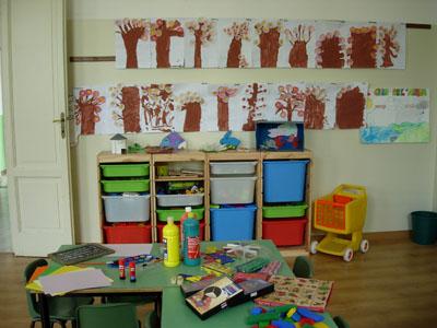 Una tipica aula della Scuola dell'Infanzia
