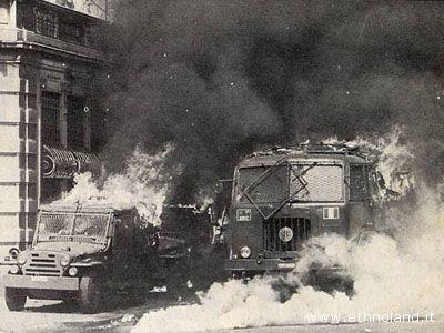 Anni di piombo, incidenti a Milano nel 1975