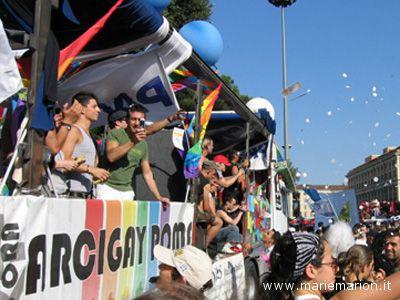 Il Gay Pride a Roma