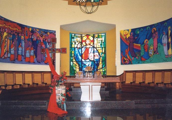 La chiesa di Cristo Re a Porto d'Ascoli