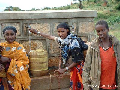 L'attività dell'associazione aiuterà gli etiopi per gli approvigionamenti di acqua potabile