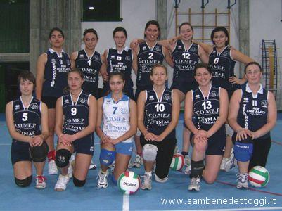 La II Divisione femminile del Grottammare Volley