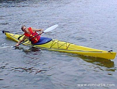 Un modello di kayak